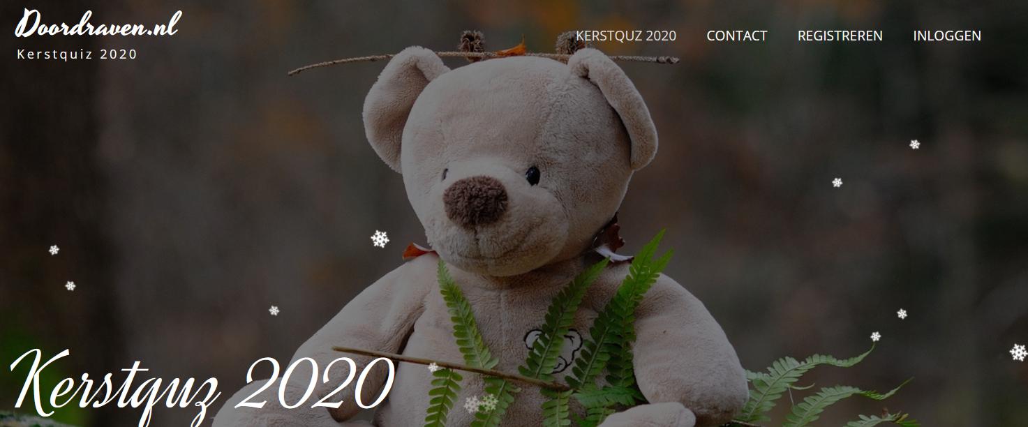 Kerstquiz 2020 online!